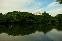 City Lakes. Surabaya Indonesia Royalty Free Stock Image