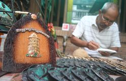 City landmark craft Stock Photography