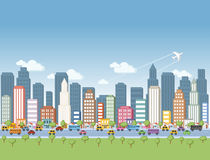 City landscape Royalty Free Stock Photo