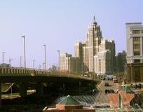 City landscape. An architectural ensemble Royalty Free Stock Images