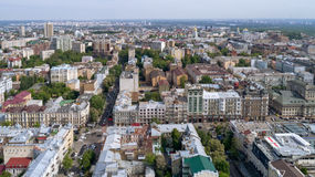 City landscape. aerial photography Stock Image