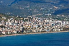 City landscape of Alanya Stock Image
