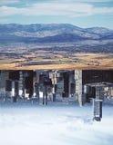 City/landscape backdrop stock photos