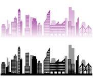 City landscape background Stock Images