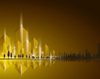 City Landscape beautiful Royalty Free Stock Image