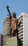 City landscape Belgrano. Postcard of Buenos Aires city, Belgrano Royalty Free Stock Photography