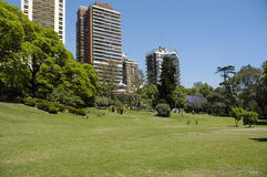 City landscape Belgrano. Postcard of Buenos Aires city, Belgrano Stock Images