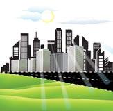 City Landscape royalty free illustration