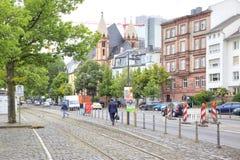 City landscape. Frankfurt am Main Stock Photography