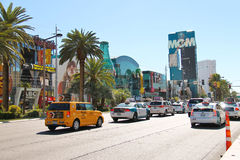 City landscape in Las Vegas, Nevada Stock Images