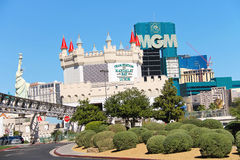 City landscape in Las Vegas, Nevada. Royalty Free Stock Image