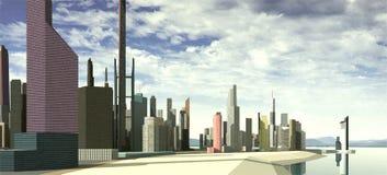 City landscape Stock Image