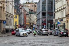 The city landscape. Riga, Latvia. royalty free stock photo