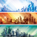 City Landscape scene Royalty Free Stock Image