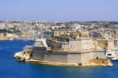 City landscape on the seaside in malta Stock Photo