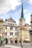 City landscape. Streets of Prague Royalty Free Stock Photo