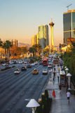 City landscape. Sunrise in Las Vegas, Nevada. Stock Image