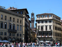 City landscape. Tour of old and beautiful Florence royalty free stock images