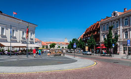 City landscape. Vilnius. Lithuania Stock Images