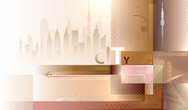City landscape Royalty Free Stock Photos