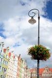 City lantern decoration Royalty Free Stock Image