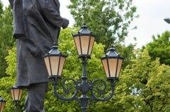 City lantern set three Stock Image