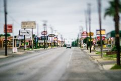 City of laredo texas city street scenes Royalty Free Stock Photos
