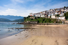 City Lastres in Asturias, Spain Stock Photo