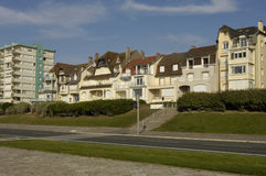 City of Le Touquet Paris Plage in Nord Pas de Calais Royalty Free Stock Photography