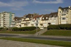 City of Le Touquet Paris Plage in Nord Pas de Calais Royalty Free Stock Photography
