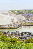 City of Le Treport, Normandy, France Stock Image