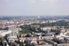 City of Leipzig Stock Photography