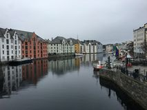 City of Ålesund, Norway. Royalty Free Stock Photography