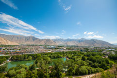 City lhasa Royalty Free Stock Photography