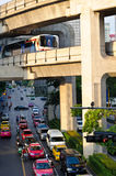 City life of Bangkok Royalty Free Stock Images