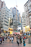 City life of Hong Kong Stock Photography