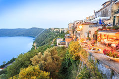Free City Life In Castel Gandolfo, Pope S Summer Residency, Italy Royalty Free Stock Image - 77194476