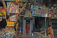 City Life of Kolkata Stock Photography