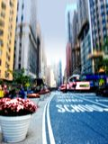 City life at Manhattan Royalty Free Stock Photo