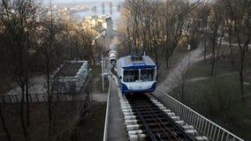 City lift landscape stock video footage