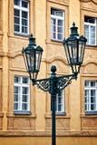 City light in Prague Stock Image