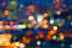 City lights Stock Photos
