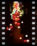City lights. Street city lights, slide illustration Royalty Free Stock Image