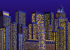 City lights Royalty Free Stock Photos