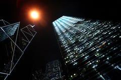City lights Stock Image