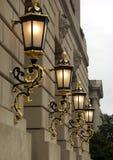city lights στοκ εικόνες