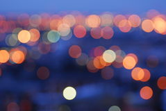 city lights Στοκ εικόνες με δικαίωμα ελεύθερης χρήσης