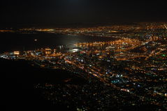 city lights Στοκ Φωτογραφίες