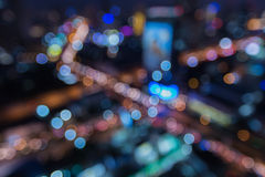The city lights,  abstract background Stock Photos