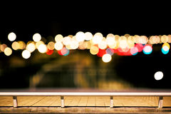 City lights background Stock Photography